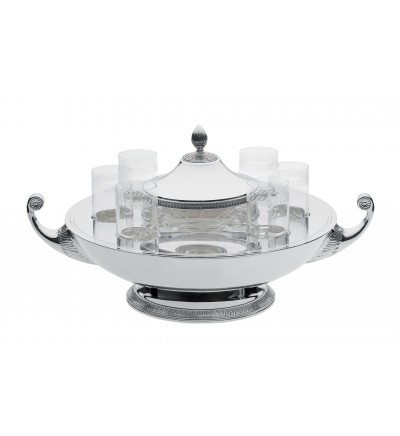 Caviar-vodka bowl
