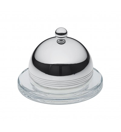 Individual butter dish with cover