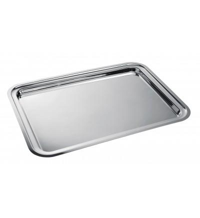 Rectangular serving tray