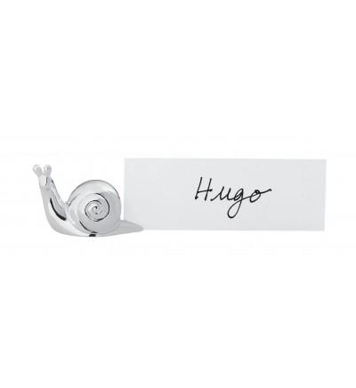 6 snail name holders ESCARGOT